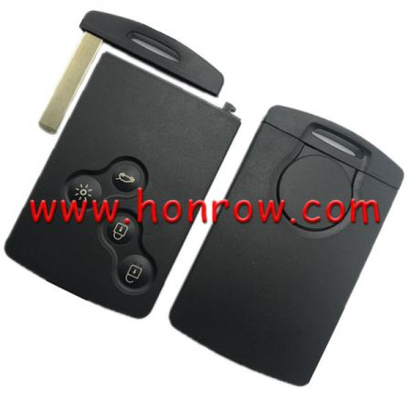 After Market for hot sale Ren Megane Laguna Scenic Non Handsfree Remote key With PCF7941 chip 433.9Mhz This card key is new and never programmed. (No Logo)
