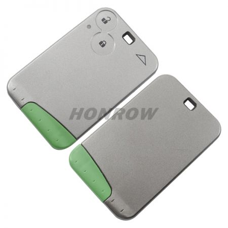 For High Quality Ren Lagu 2 Button Remote Key  with ID46 PCF7947 Chip and 433MHZ (Without Logo)
