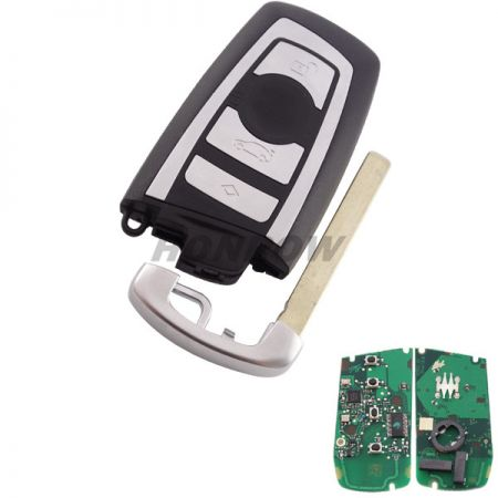 After Market for BM 4 button keyless remote key with 868mhz with PCF7953PC1800 chip