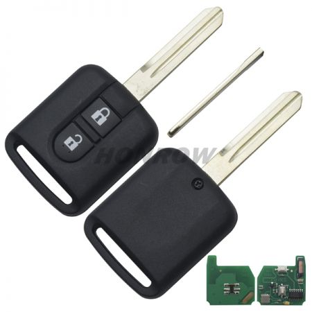 For Nis 2 button remote key with 433mhz with 7946 chip with FSK model Vehicles